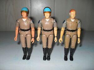 Chips Action Figures - Mego, 1980