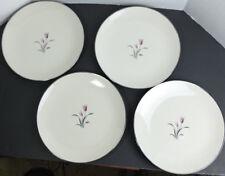 """VINTAGE FRANCISCAN FINE CHINA CAMEL 4 DINNER PLATES 10 2/8"""""""