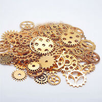 50/100g Steampunk Watch Parts Pieces Cogs Gears Altered Art Craft Jewelry Making