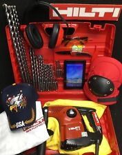 HILTI TE 16 HAMMER DRILL, PREOWNED, GERMANY, FREE TABLET, BITS, EXTRA, FAST SHIP