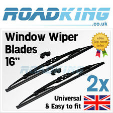 "2x 16"" Deluxe Front Blades Windscreen Window Wipers 