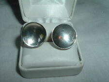 Earrings In Gift Box Vintage Mexican Sterli 00004000 Ng Silver Screwback