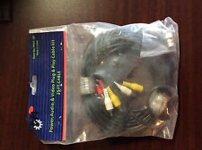 New power, audio, & video plug & play cable kit 25ft cable