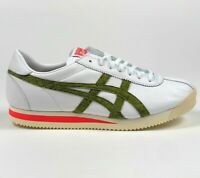 Asics Onitsuka Tiger Corsair Mens 9.5 White Red Green Low Sneakers 1183A199-100