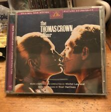 THE THOMAS CROWN AFFAIR MICHEL LEGRAND SOUNDTRACK OOP RYKO 1998 ENHANCED CD