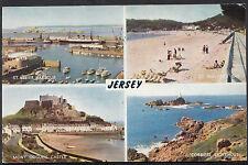 Channel Islands Postcard - Views of Jersey    U1132