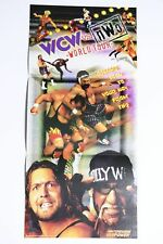 WCW VS. NWO WORLD TOUR Poster Only - Nintendo 64 N64