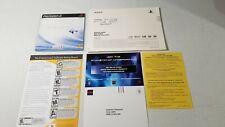 Sony PS2 Instructions Manual & Online Start Up Disk V4.0 Sealed + Paperwork