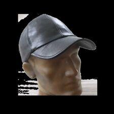 1A SATTLERQUALITÄT Lederkappe LEDER Baseballkappe CAP versch. Farben HOCHWERTIG#