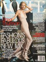UMA THURMAN November 2003 VOGUE Magazine VOGUE'S FASHION SUPERSTARS