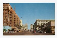 Pickwick Hotel and Greyhound Bus Terminal San Diego, CA Color Postcard