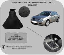 Funda Palanca de Cambios Piel Auténtica Compatible con OPEL VECTRA C 2002-2009
