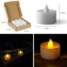 Flameless LED Candles Real Wax Battery Powered Lights Pillar & Votive Pack Nice