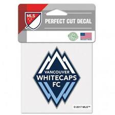 "Vancouver Whitecaps Perfect Cut 4""x4"" Color Decal (NEW) Auto Sticker Emblem MLS"