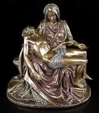 Pieta - Maria mit Jesus Figur - bronziert Christus Madonna Statue Veronese