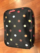 Reisenthel Foldable Trolley Bag Packable Oversized Tote with Wheels Dots