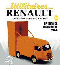 1/43 eme  IXO -HACHETTE - RENAULT 1000 KG  SERVICE D.D.E 1964