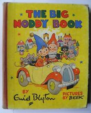 The Big Noddy Book With Pictures By Beek Enid Blyton First Edition 1951