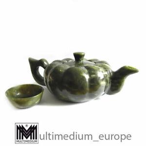Tee kanne Teeset Tee becher Nephrit Jade Kanne Tee Kännchen China
