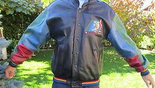 Bomber giacca lether- pelle originale VINTAGE invernale TPS Louisville