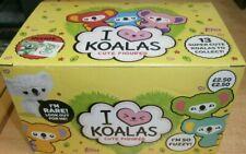 Topps I Love Heart Koalas Cute Figures Collection Box (12 blind bags) Fuzzy