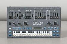 Roland MC-202 MicroComposer vintage analog synthesizer + psu adaptor (serviced)