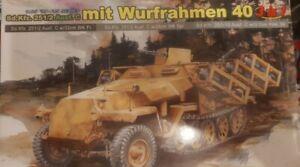 Dragon 1/35 Sd.Kfz. 251/2 Ausf. C Mit Wurfrahmen 40. 3 In 1 Kit.