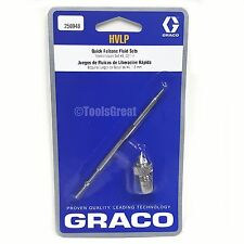 "Graco HVLP 256948 Quick Release Fluid Needle Nozzle #4 Kit 0.071"" 1.8mm"
