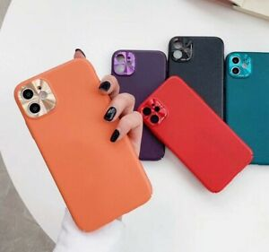 METAL LENS PROTECTOR Cover Case for iPhone 11 Pro Max XR X XS Hard Shockproof