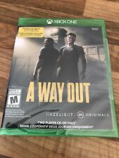Xbox ONE:      A WAY OUT   (mode coopératif 2 joueurs)     -    NEUF / NEW -
