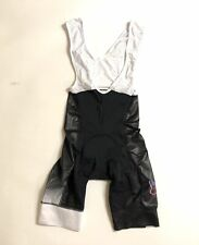 Small Men's Colombia Hincapie Max Cycling Bib Short Black/White CLOSEOUT