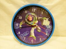 Disney Toy Story Buzz Lightyear Wall Clock Bedroom Decor Kids Room Playroom