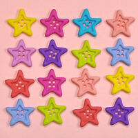 SILVER STARS 4110 ~ Colorful Stars~ Crafts Jesse James Buttons ~ Dress It Up