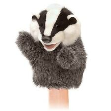 LITTLE BADGER # 3102 ~ NEW for 2017! FREE SHIP in USA ~ Folkmanis Puppets