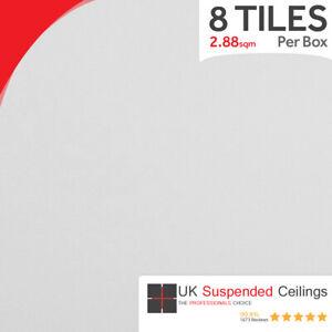 Suspended Ceiling Tiles ** Vinyl ** 600 x 600 Easy Clean - 595x595mm