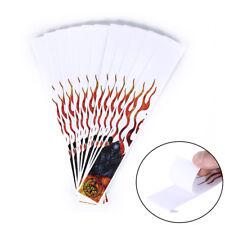12pcs red & white arrow sticker arrow wraps for carbon fiberglass arrow _S