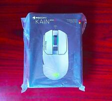 ROCCAT - Kain 202 AIMO Wireless Optical Gaming Mouse with RGB Lighting - White