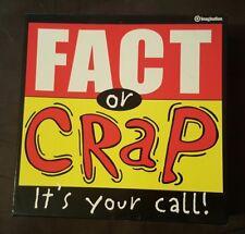 Fact or Crap Trivia Board Game - imagination - free shipping