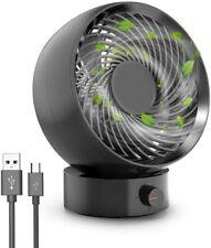 Mini Ventilateur USB Puissant Bureau Silencieux Ajustable Accessoires Table