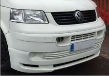 VW T5 Transporter T5 2003 to 2010 Front Lip, Splitter, Add-on, Brand New in UK