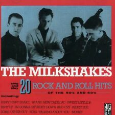The Milkshakes - 20 Rock N Roll Hits of the 50'S-60's [New CD] UK - Import