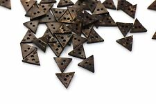 Triangle Coconut Button BOHO Ethnic Decorative Sweater Children Baby DIY 20pcs