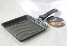 NEW MINI GRIDDLE GRILL PAN 18cm RSW