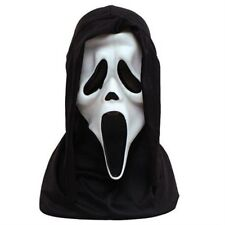 Oficial Scream 4 Ghostface Ghost Máscara Horror Halloween Vestido de fantasía P6528