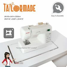 Sewing Machine Table Cabinet Desk Furniture Janome Singer Brother Elna Bernina