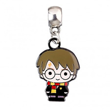 Officially Licensed Harry Potter Character CHIBI Silver Plated Slider Charm Bead