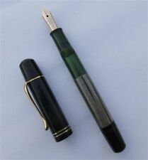 PELIKAN 100 N, FOUNTAIN PEN, GRAY/BLACK, RARE