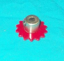 meccano roue de chaine 14 dents, No96a rouge