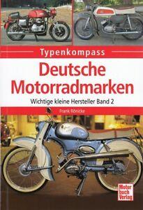 Typenkompass deutsche Motorrad-Marken Band 2 Typen-Buch/Modelle/Technik/Handbuch