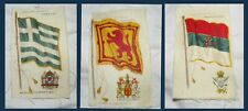 New listing Antique Early 1900s Cigarette 'Silk' Flags Montenegro Greece Scotland